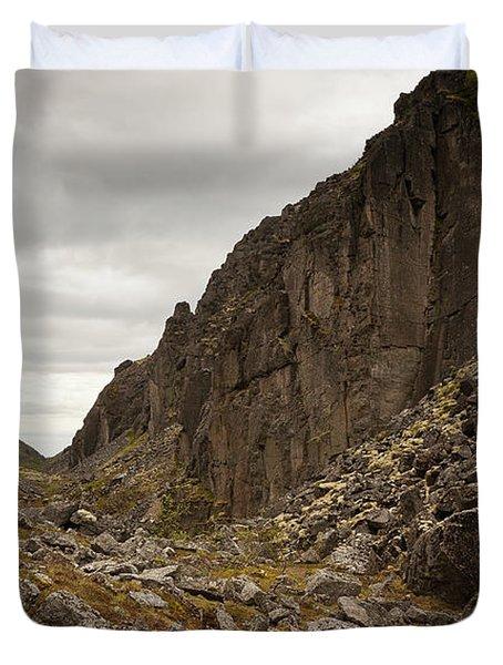 Canyon Aku Aku Duvet Cover by Konstantin Dikovsky