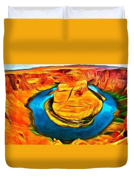 Canyon - Da Duvet Cover