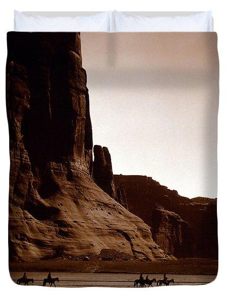 Canyon De Chelly 2c Navajo Duvet Cover