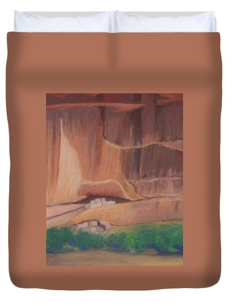 Canyon De Chelly Cliffdwellers #2 Duvet Cover