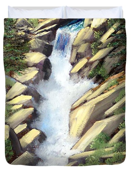 Canyon Falls Duvet Cover