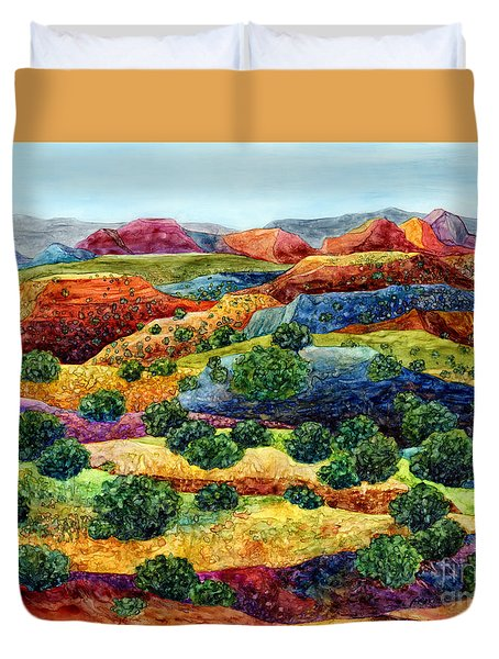 Canyon Impressions Duvet Cover