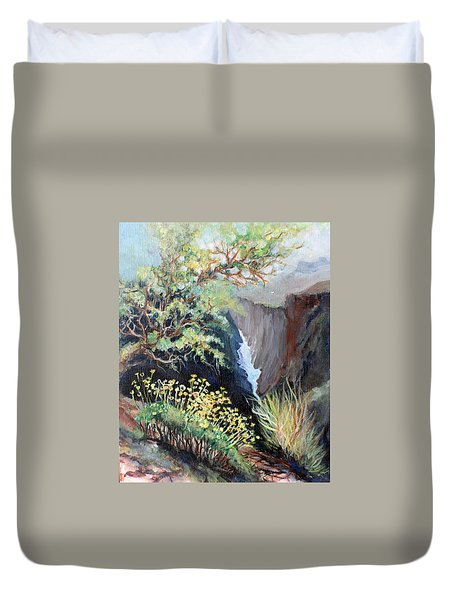 Canyon Land Duvet Cover