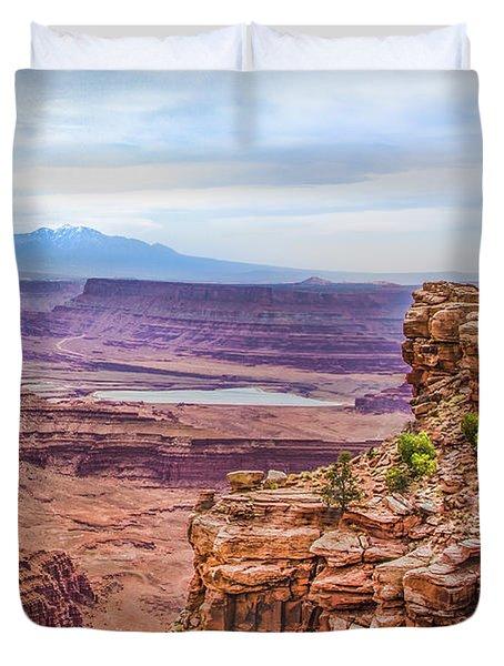 Canyon Landscape Duvet Cover