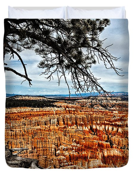 Canyon Overlook Duvet Cover by Christopher Holmes