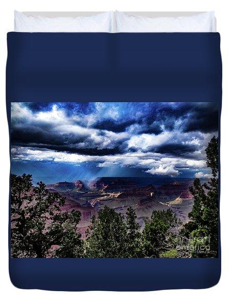 Canyon Rains Duvet Cover