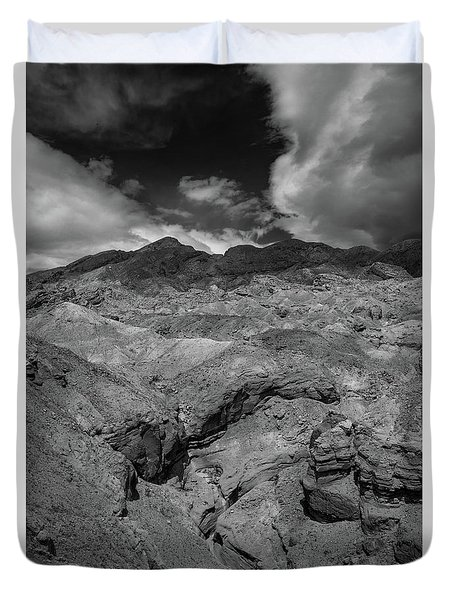 Canyon Relief Duvet Cover