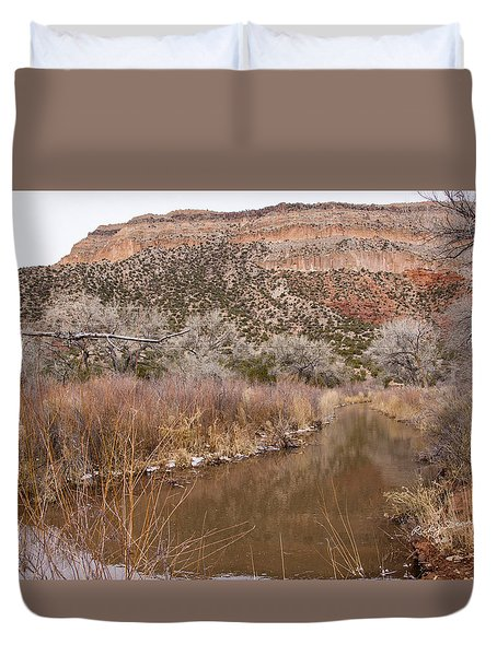 Canyon River Duvet Cover by Ricky Dean