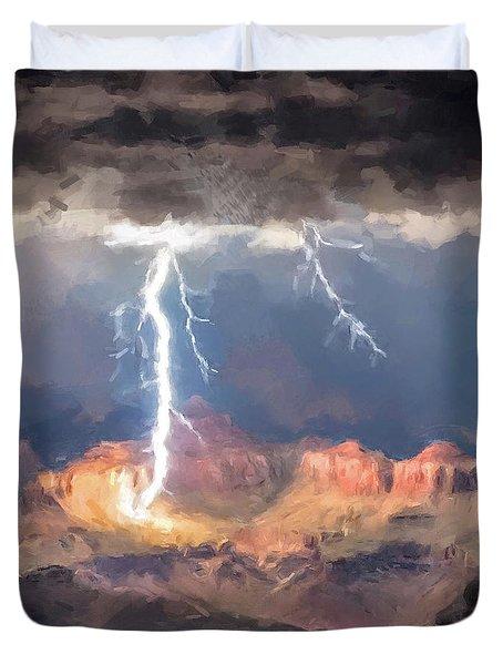 Canyon Storm Duvet Cover