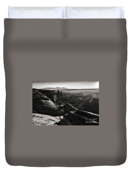 Canyon Sunbeams Duvet Cover