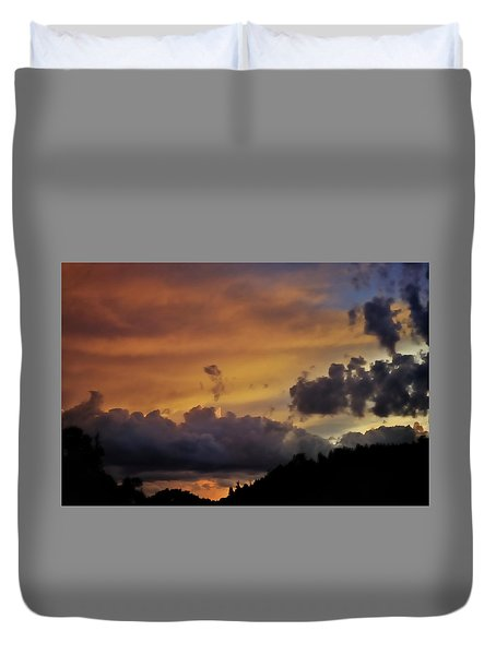 Canyon Sunset Duvet Cover