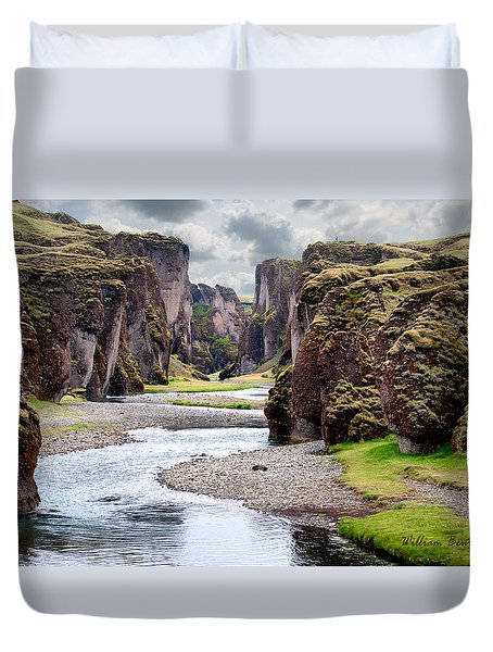 Canyon Vista Duvet Cover