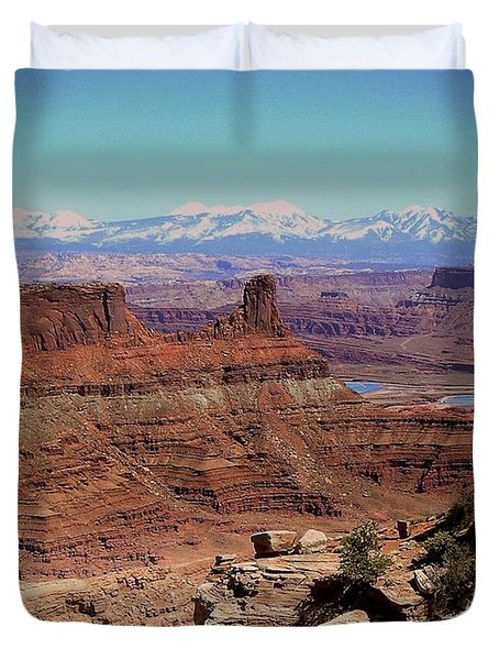 Canyonlands 5 Duvet Cover by Marty Koch