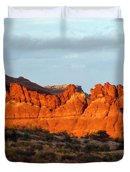 Canyonlands At Sunset Duvet Cover by Marty Koch