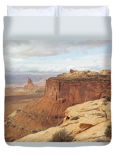 Canyonlands Candlestick Duvet Cover