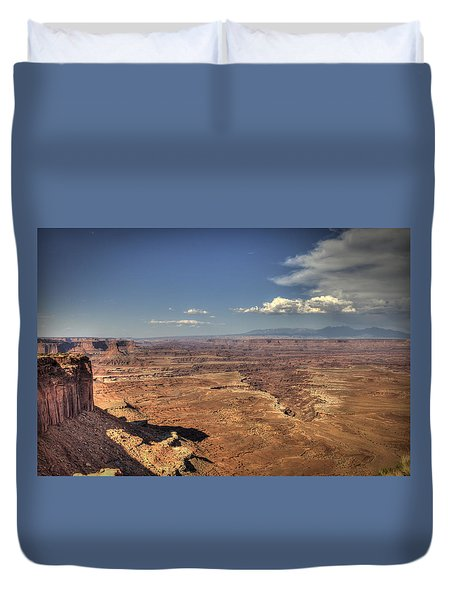 Canyonlands Colorado River Duvet Cover