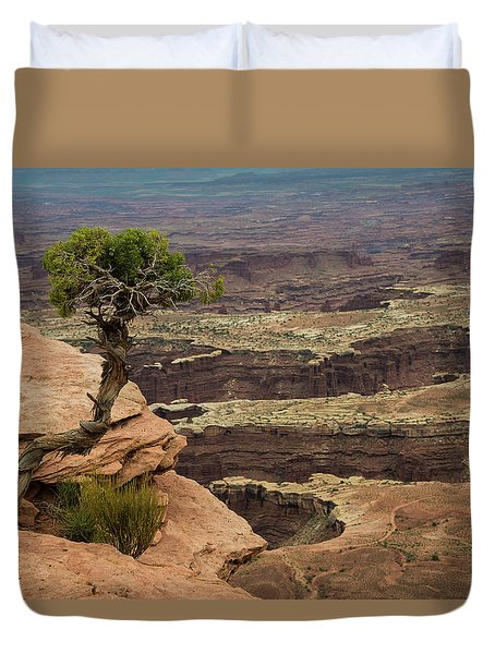 Duvet Cover featuring the photograph Canyonlands by Gary Lengyel