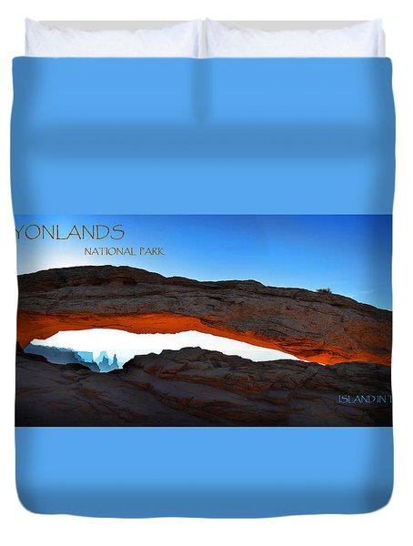 Canyonlands National Park Duvet Cover