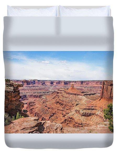 Canyonlands Near Moab Duvet Cover