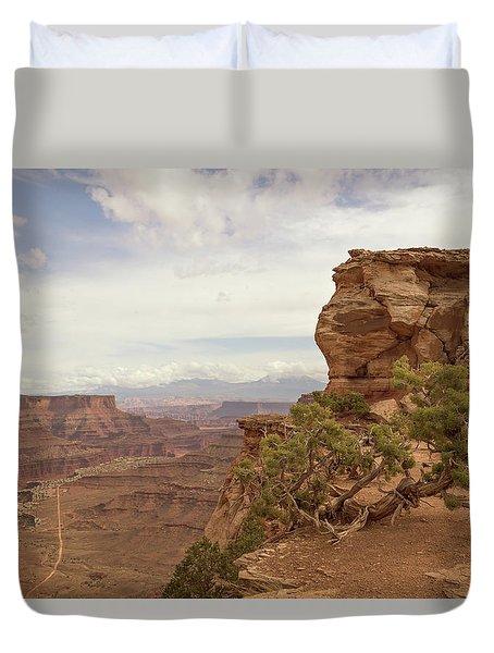 Canyonlands Overlook Duvet Cover
