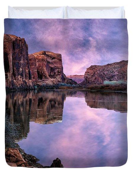 Canyonlands Sunset Duvet Cover