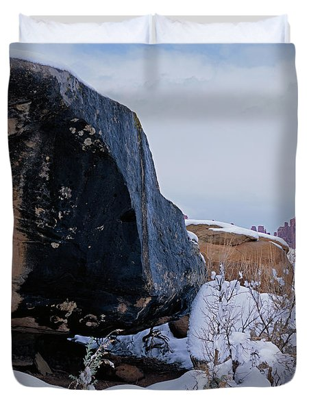Canyonlands Swirl Duvet Cover