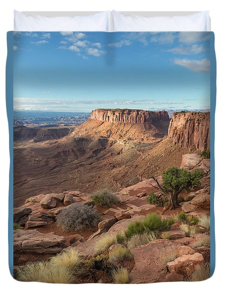 Canyonlands View Duvet Cover