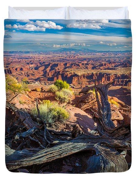 Canyonlands White Rim Duvet Cover