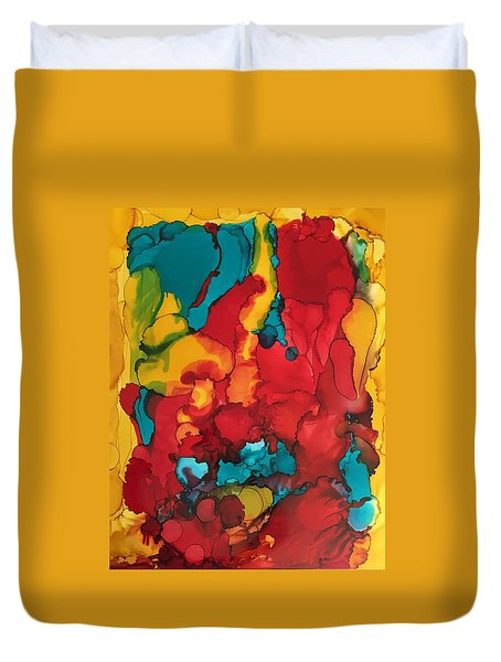 Canyons Of Color Duvet Cover
