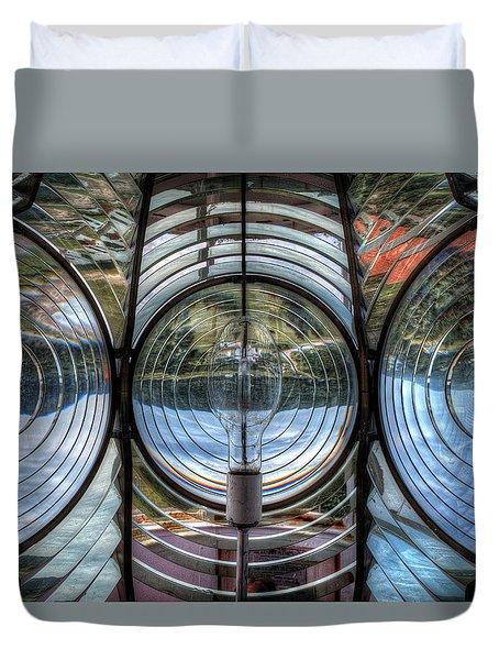Cap Madeleine Lighthouse Duvet Cover