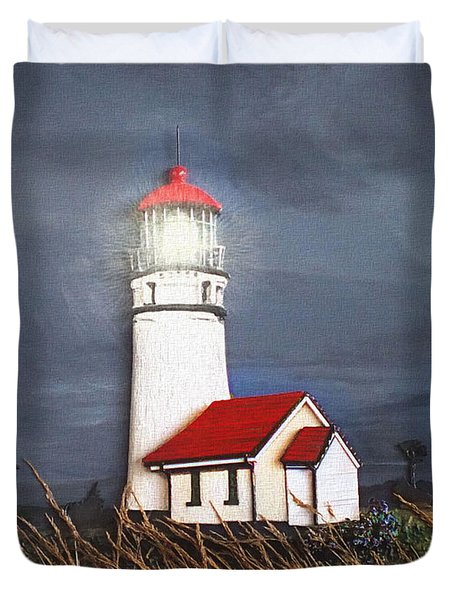 Cape Blanco Glow Duvet Cover by Wendy McKennon