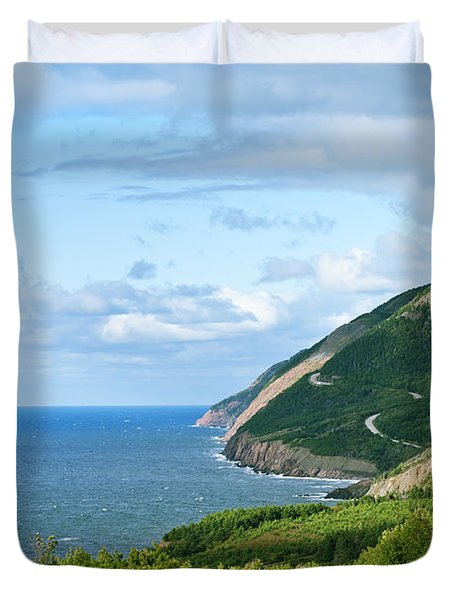 Cape Breton Highlands National Park Duvet Cover