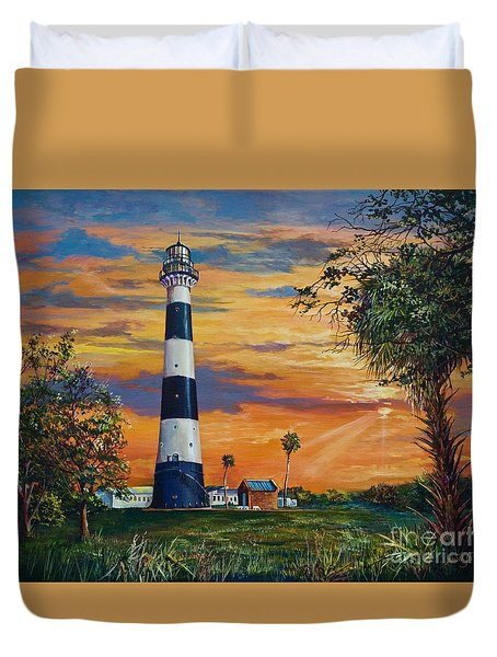Cape Canaveral Light Duvet Cover