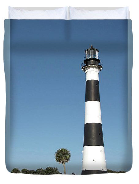 Cape Canaveral Lighthouse  Duvet Cover
