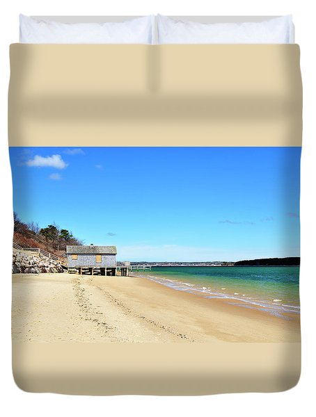 Cape Cod Beach Chatham Massachusetts Duvet Cover