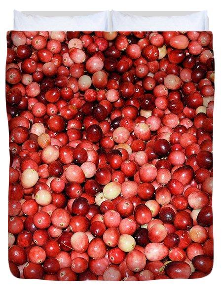 Cape Cod Cranberries Duvet Cover
