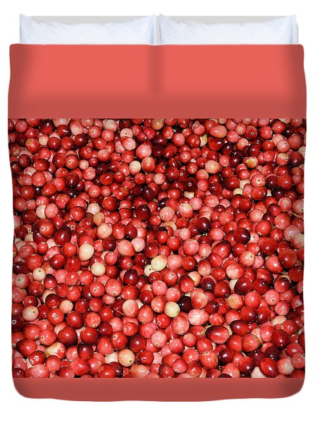 Cape Cod Cranberries Duvet Cover