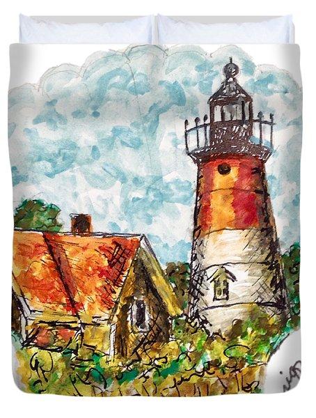 Cape Cod Lighthouse Duvet Cover