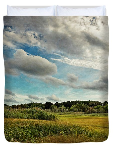 Cape Cod Marsh 2 Duvet Cover