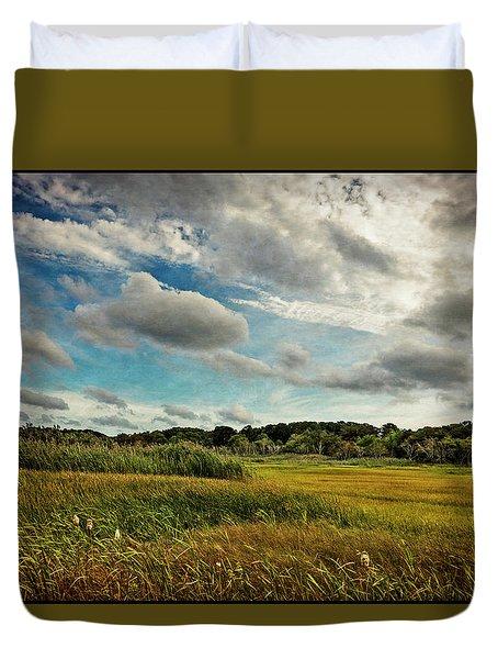 Cape Cod Marsh 2 Duvet Cover
