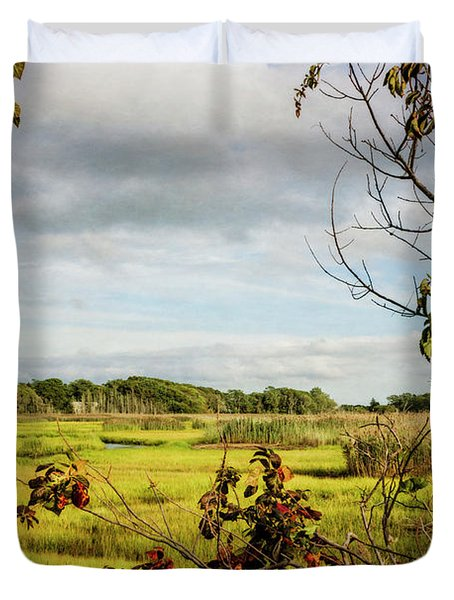 Cape Cod Marsh 3 Duvet Cover