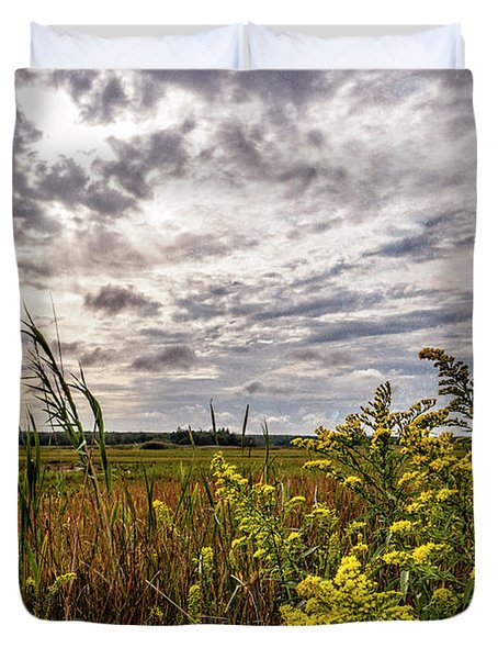 Cape Cod Marsh 4 Duvet Cover