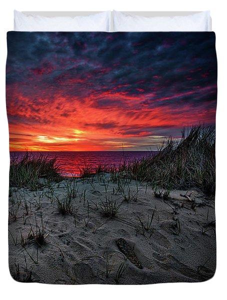 Cape Cod Sunrise Duvet Cover