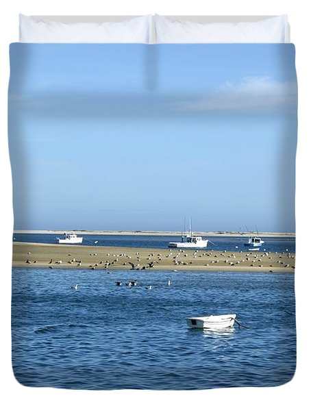 Cape Cod Tranquility Duvet Cover