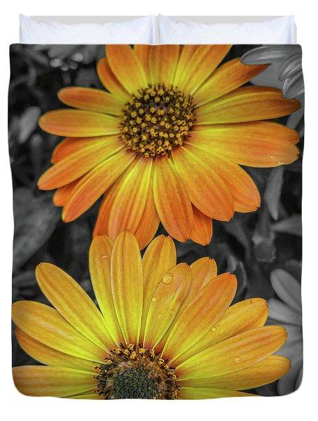 Cape Daisy's - Orange Duvet Cover