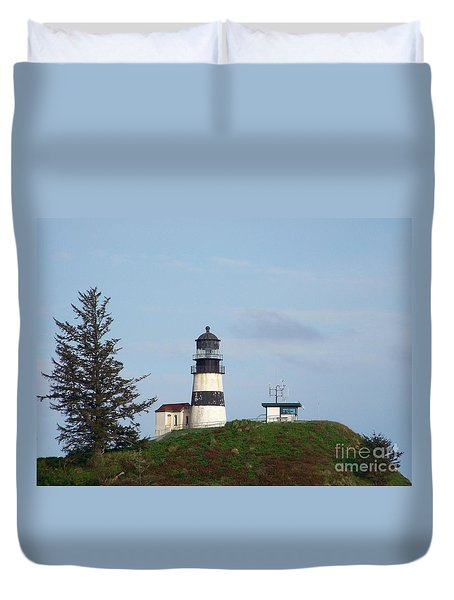 Cape Disappointment Light 2 Duvet Cover
