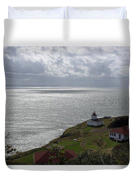 Cape D'or Lighthouse Duvet Cover