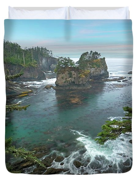 Cape Flattery North Western Point Duvet Cover