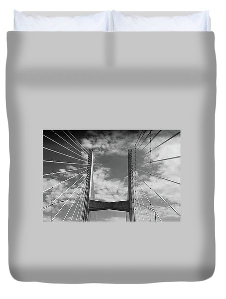 Cape Girardeau Bridge Duvet Cover
