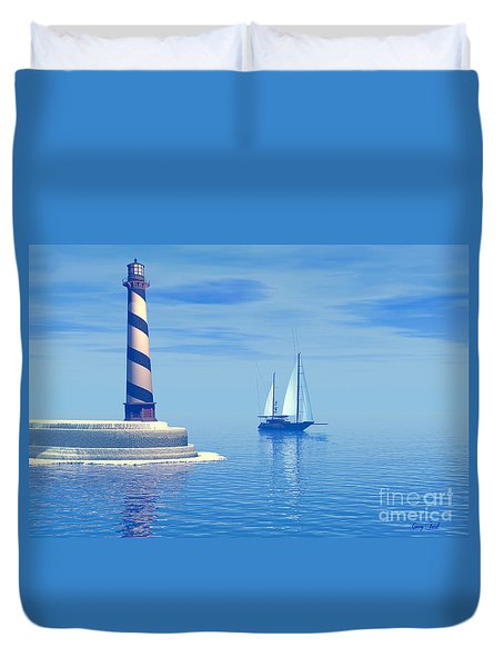 Cape Hatteras Duvet Cover by Corey Ford